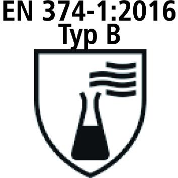 EN ISO 374-1 / Typ B